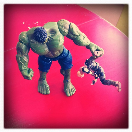 GI Joe Make Hulk Angry
