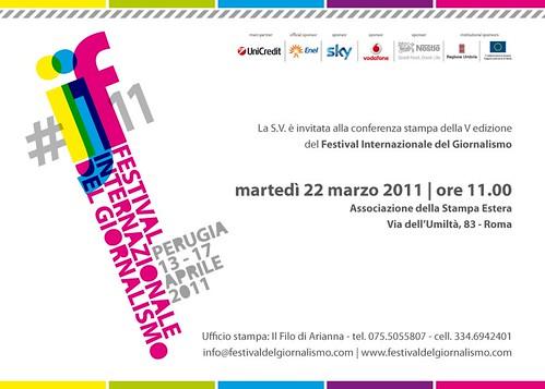 presentazione festival giornalismo roma
