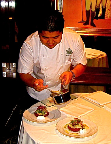 Chef Alex at BevHills Hotel