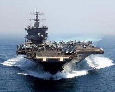 11c17 USS Enterprise cruza el Canal de Suez el 15 febrero 2011