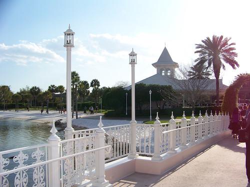 Wedding Chapel across bridge