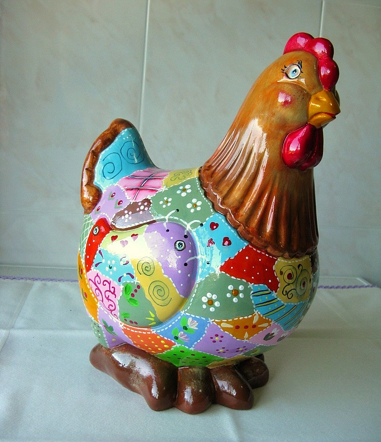 Galinha Patch - Patch chicken
