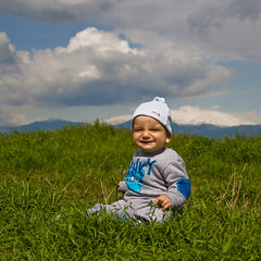 Smile, baby, smile (zar_kor) Tags: boy portrait baby smile canon kid spring photographer hula north galilee valley tamron nisan  agamon     ahula    287528 550d  colorphotoaward flekman