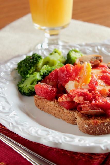 Eggs with Tomato Sauce