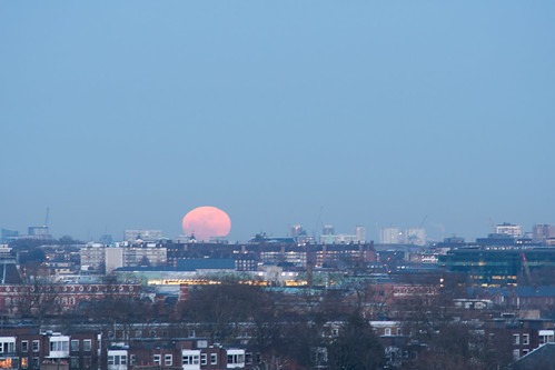 Primrose Hill Sunset and Moon-12