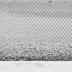 Imitation (Jeremy Brooks) Tags: sanfrancisco california blackandwhite bw usa fence blackwhite chainlink sanfranciscocounty shuttersaltassignmentproject shuttersaltw9