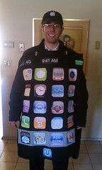 iPhone Purim Costume with RustyBrick Apps