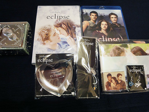 twilight eclipse dvd blue-ray 3