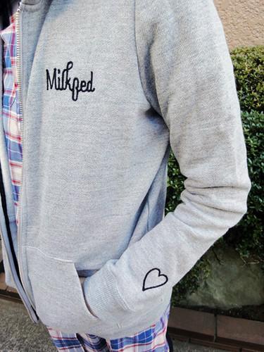 zip hoodie milkfed 2