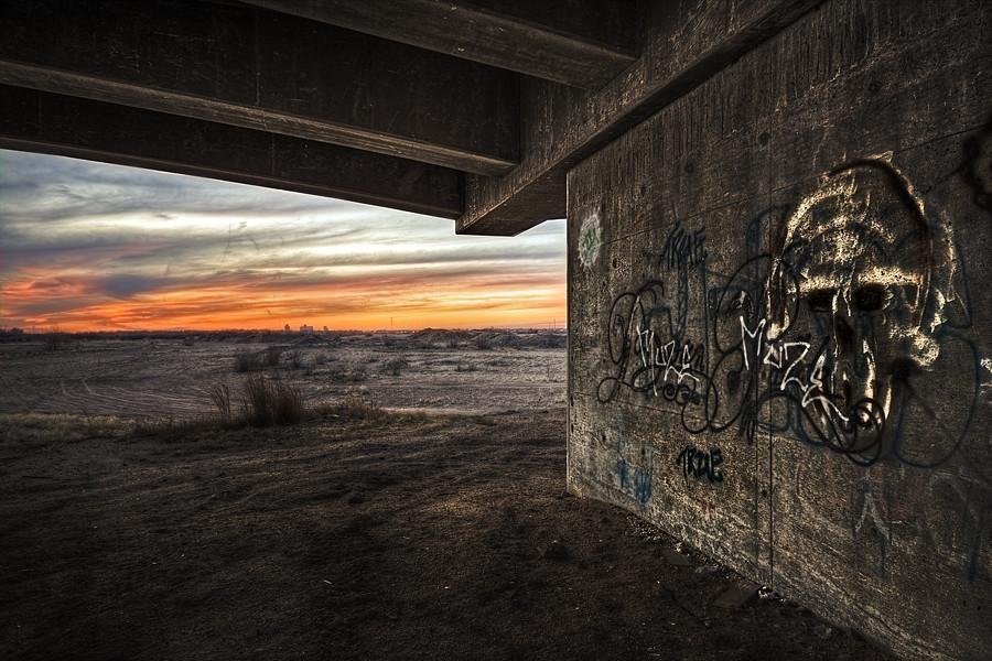 Skull's Sunset