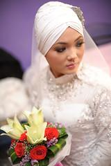 wedding adhha & afiqah (chanteeq pictures (013-3734655)) Tags: wedding macro 50mm bride nikon hijab nikkor pengantin malay reflector cls kahwin kasut kawen pelamin bunge nikah tunang cincin d90 d700 flowerofislam chanteeq