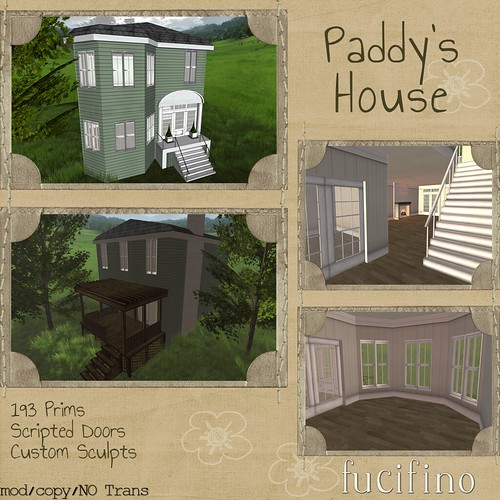 fucifino - Paddy's House