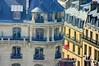 Paris vu depuis le sommet de l'Arc de Triomphe un jour bien pollué 7 un superbe bâtiment Art Déco rue de Presbourg (paspog) Tags: paris france roofs pollution arcdetriomphe toits decken toitsdeparis parisrooftops