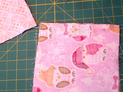 Altered Four Square Quilt Block Tutorial: Sewing Both Pairs