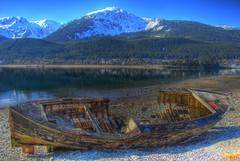 thaneboat.jpg (wfischer) Tags: alaska boat nikon ak juneau d200 hull thane wreck hdr