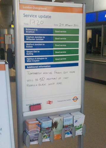 Shoreditch Station whiteboard by blakeconnolly