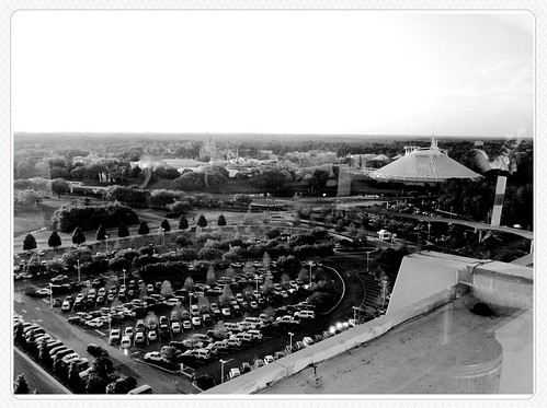Magic Kingdom from Contemporary Resort