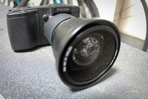 Fisheyed GX200