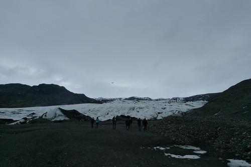 en route to mýrdalsjökull