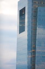 Comcast Center (street level) Tags: city travel blue urban building philadelphia skyline architecture skyscraper nikon downtown pennsylvania centercity officebuilding comcastcenter d90 nikond90club