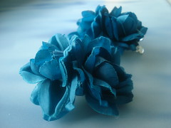DSC01524 (Kirayuzu) Tags: turquoise accessorize trkis hairaccessory hairflower hairflowers haaraccessoire haarblume haarblumen