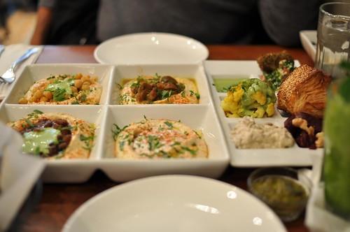 lunch at Hummus Kitchen