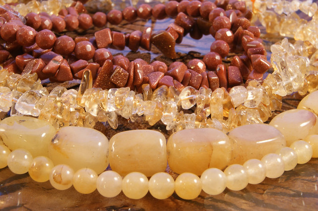 Beads-GoldstoneandYellow