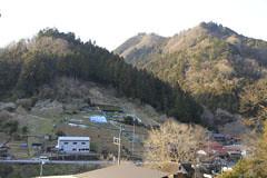 上川乗の谷あい