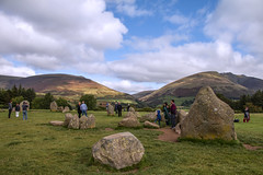 Castlerigg stone circle (kellyhackney1) Tags: castlerigg castleriggstonecircle cumbria keswick lakedistrict holiday stonecircle piccy hills mountains sky