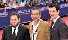 10-09-2016-58 Jonah Hill Todd Phillips Miles Teller (Thierry Sollerot) Tags: deauville2016 thierrysollerot tapis rouge deauville festival film amricain american