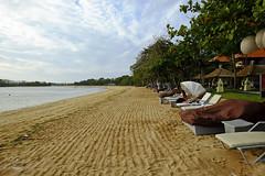 Morning by the beach (A. Wee) Tags: westin 威斯汀 resort hotel 酒店 bali 巴厘岛 indonesia 印尼 spg beach 沙滩 nusadua
