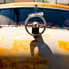Dead On Course (Thomas Hawk) Tags: buick buickroadmaster missiondistrict roadmaster sanfrancisco usa unitedstates unitedstatesofamerica auto automobile car hoodornament fav10