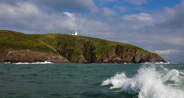 Passing Caldey Island - [Explored] Thanks all !