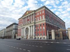 Rotes Rathaus (SebastianBerlin) Tags: 1783 1946 2016       13 russia moscow cityhall rusland moskau rathaus kasakow