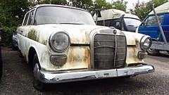 Mercedes W110 (vwcorrado89) Tags: mercedes w110 w 110 benz mercedesbenz heckflosse rusty rust abandoned old car