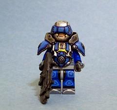 Little Boy Blue (The Knight (KJ)) Tags: toys lego hazel scifi minifig cyborg