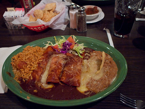 Evening Meal - Forti's Mexican Elder Restaurant