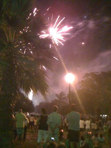 Australia Day fireworks 2