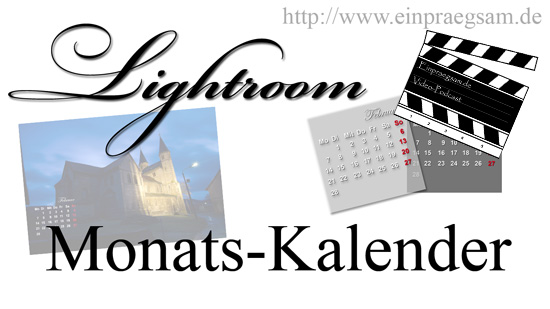 Lightroom Monatstafeln download kostenlos