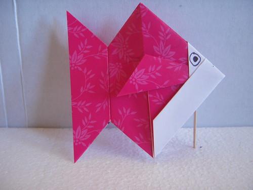 Origami #22: Goldfish (Pinkfish?)