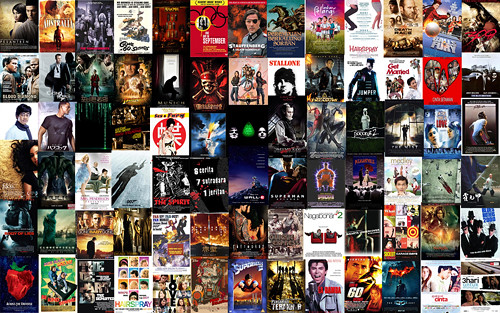 movie wall flickr