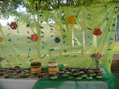aniversario de 02 anos - mesa (gabrielagaia) Tags: party origami handmade infantil aniversrio decorao arabesque kusudama