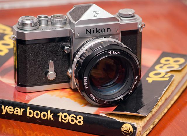 Nikon F, 55mm f1.2