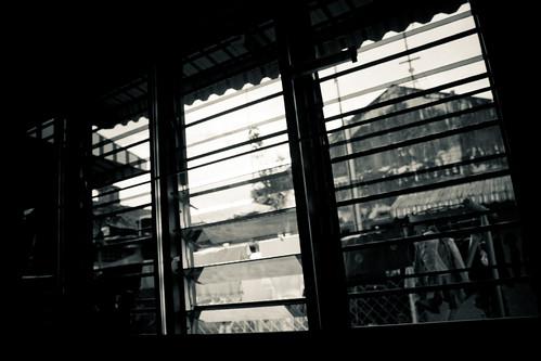 la fenêtre de ma chambre