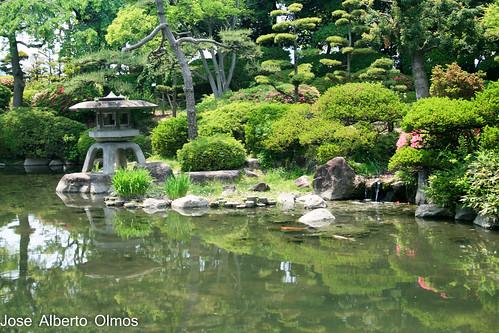 Jardines castillo Osaka