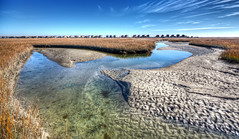 Lowcountry Low Tide (Sky Noir) Tags: homes vacation sand south salt shoreline shore carolina marsh lowtide sandybeach lowcountry skynoir bybilldickinsonskynoircom