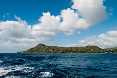 Diamond Head (Per Erik Sviland) Tags: sea hawaii boat fishing day head diamond erik per vulcano pererik sviland sqbbe pereriksviland pwpartlycloudy