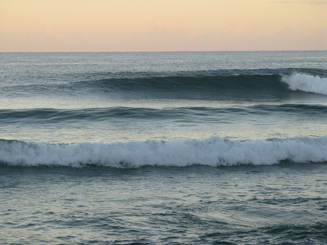 empty morning surf