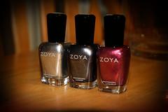 026/365 - ZOYA! (antigone78) Tags: silver grey bottle zoya purple nail polish trixie pru freja project365