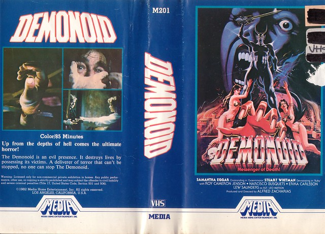 DEMONOID (VHS Box Art)